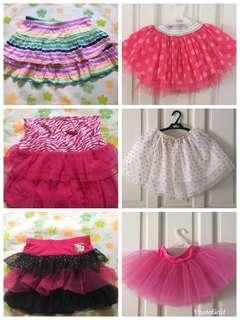 Tutu vs Skirt