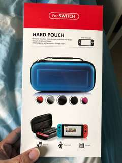 nintendo switch pouch ( red)
