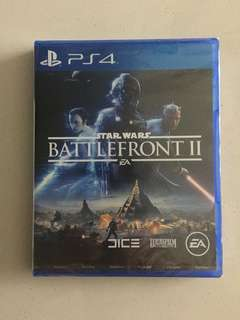 PS4 brand new and sealed Star Wars battlefront 2