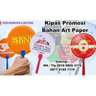 Kipas Artpaper printing full colour