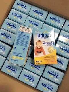 嬰兒D drops維生素d3滴劑
