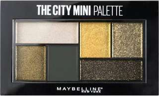Authentic Maybelline The City Mini Palette - Urban Jungle