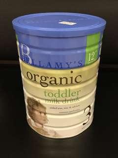 BN Bellamy's organic toddler milk powder