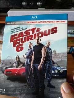 Blu ray, Fast & Furious 6