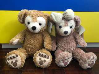 Duffy big bear and Shellie may ( Tokyo Disney sea)