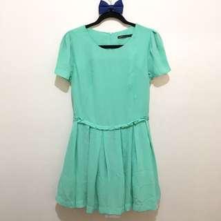 Mint Green Dress