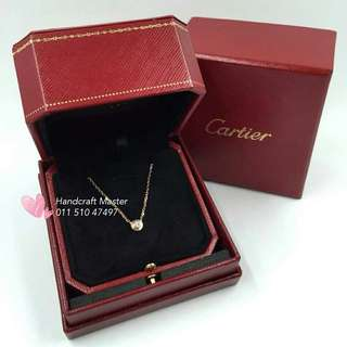 Cartier Diamond 18k rose gold necklace