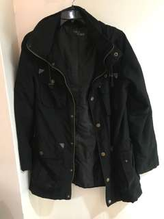 Black Parka Jacket