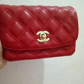 Sling bag chanel red