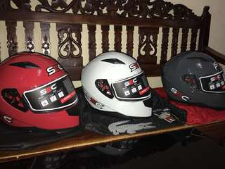 Sec helmet fullface brand new and original