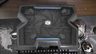 Cooler master notepal x3 laptop cooler fan