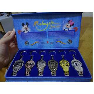 馬來西亞迪士尼 鑰匙圈指甲剪