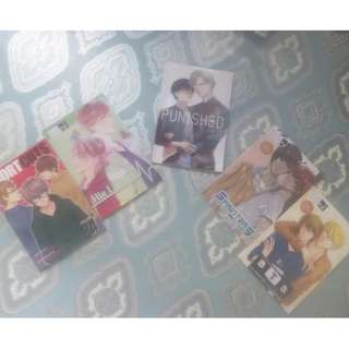yaoi books 1 set (400.00 pesos) 1 book ( 95 pesos)