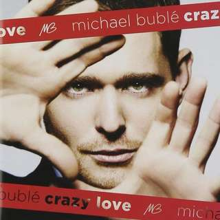 CD Michael Bublé ‎– Crazy Love with bonus DVD