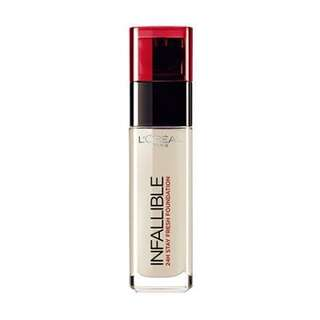 L'oreal infallible foundation shade 140