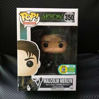 #350 Pop Malcolm Merlyn SDCC 2016 Exclusive