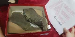 WEDGES SHOES ARMY
