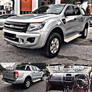 SAMBUNG BAYAR BERDEPOSIT/CONTINUE LOAN  FORD RANGER 2.2 DIESEL MANUAL YEAR 2014/2015