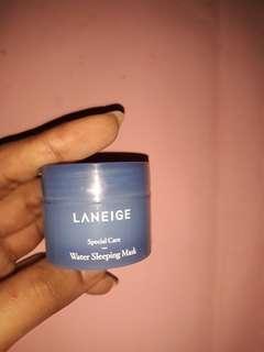 Laneige water sleeping mask (kondisi 90%)
