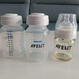 Philips Avent Milk bottles