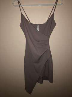 Purple/Grey Dress // Size XS-