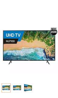 Brand New Samsung 43 inches 4K Smart TV with 3 years warranty
