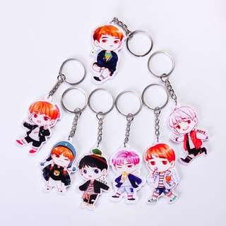 BTS Acrylic YNWA Sping Day Keychain / Keyring