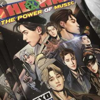 Exo power 淨專+poster