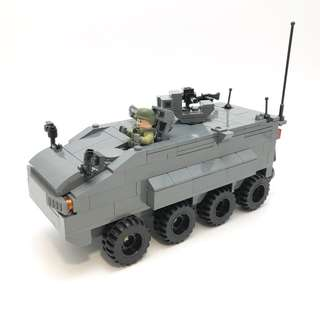 🚚 Terrex Infantry Carrier Vehicle Minifigure Scale - 308