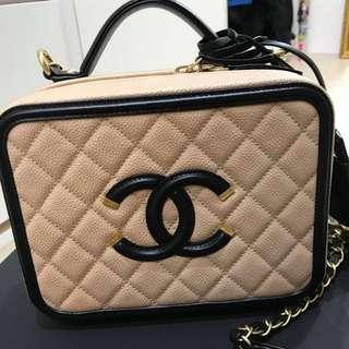 Chanel vanity case 21cm