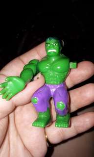 Marvel toy lost arm moveable