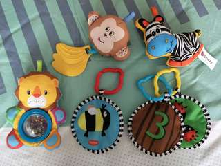 Baby Toys (hanging and sensory)