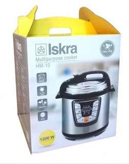 (🆓📮) ISKRA 6L Electric Pressure Cooker