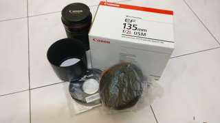 Canon Lens 135 f2 like new !