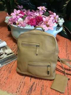 ESPRIT Backpack (preloved) Flaws Noted