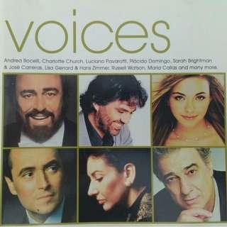 CD Various Artistes – Voices