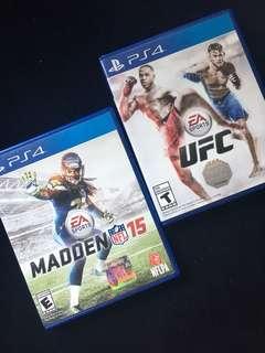 UFC + Madden NFL 15