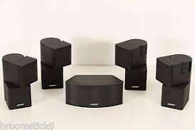 Bose Jewel speakers set (1 centre & 4 surround)