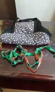 Dog bag and dog lace