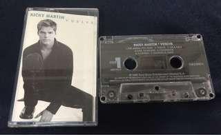 RICKY MARTIN VUELVE CASSETTE TAPE 卡帶 錄音帶