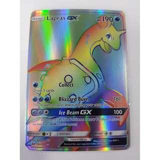 Lapras GX Rainbow Rare