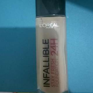 LOREAL INFALLIBLE STAY FRESH FOUNDATION 24H shade 220 (sand)