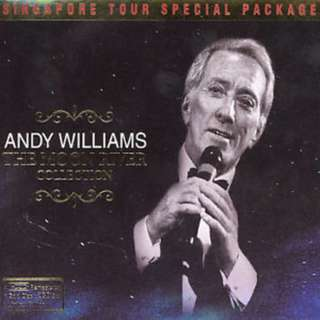 Double CD Andy Williams The Moon River Collection Greatest Hits Best of HDCD Gold Discs