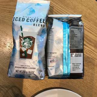 Starbucks Coffee Bean #Iced Coffee 1 Bag Only