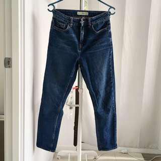 Topshop Mom Jeans W25 L30