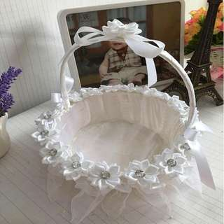 Wedding decorative baskets