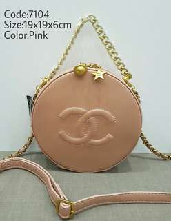 Gred Super A Chanel Round Sling Bag