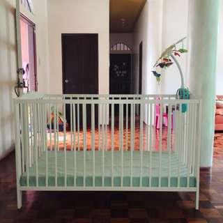 Crib (wooden crib)