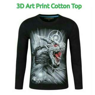 📚 New! 5 3D Art Print designs/colors! Sale Price! FS: M - L