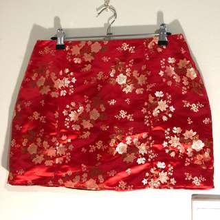 Neon Hart Skirt